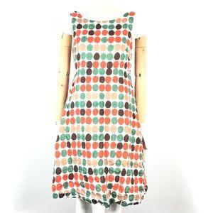 J. Crew polka dot dress